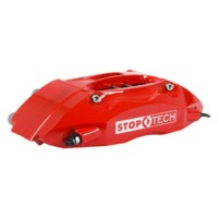 Disc Brake Upgrade Kit-Red Caliper / Slotted Rotor Front fits 91-