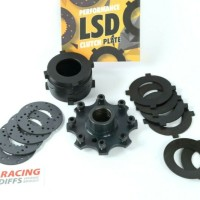 BMW E30 168mm LSD Stage 3 Upgrade clutch plate kit - Group A & DT