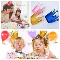 Topi Mahkota Princess untuk Pesta Ulang Tahun