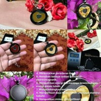 Kalung Pendant Aura Heart Black Gold Original 100% by MCI Termurah