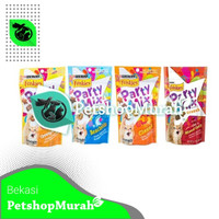 Snack Kucing Friskies Party Mix 60 gram All Varian Cemilan Kering 60gr