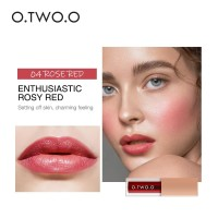 O.TWO.O Rouge Watercolor Lip & Cheek Tint 4,5ml #04 Rose Red