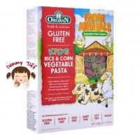 ORGRAN RICE CORN VEGETABLE ANIMAL SHAPE 200GR