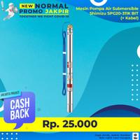 Mesin Pompa Air Submersible Satelit Sibel Shimizu SPG20-311K BIT