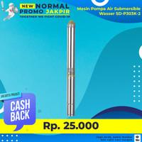 PROMO Pompa Submersible Satelit 3 Inch Wasser SD-P303K-2 + Kabel