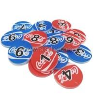 Koin Coin Bola Biji Karambol Mainan Anak