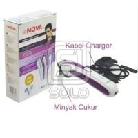 ALAT CUKUR NOVA NHC - 6138| HAIR CLIPPER NOVA Rambut / Kumis / Jenggot