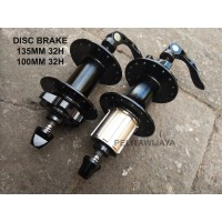 Freehub 10 Speed Disk Brake Sepeda Lipat MTB 32h 32 hole Noris Ecosmo
