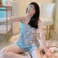 Set Piyama Import Stelan Baju Tidur Tanktop