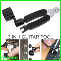 Guitar Tools 3 in 1 String Winder / Bridge Pins Puller / String Cutter