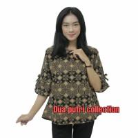 Blouse Batik Atasan Batik Wanita Seragam Kantor S-M-L-XL-XXL-3L-4L-5L