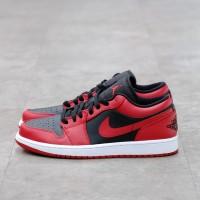Nike Air Jordan 1 Low Reverse Bred 100% Authentic