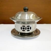 panci shabu shabu/panci hotpot/panci warmer/panci sapo 18cm