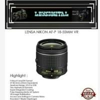 Lensa Nikon AF-P 18-55mm -Lensa Kamera DSLR