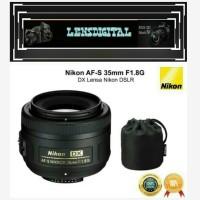 NIKon AF-S 35mm F1.8G DX Lensa Nikon DSLR-Original