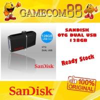 Sandisk Ultra Dual Drive OTG USB 3.0 128GB Flashdisk Original