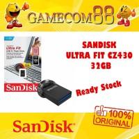 Sandisk Flash Drive Ultra Fit CZ430 32GB USB 3.0 Flashdisk Original