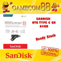 Sandisk OTG Dual Drive Go Type C 64GB USB 3.0 Original
