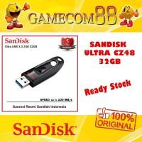 Sandisk Flash Drive Ultra USB 3.0 CZ48 32GB Flashdisk Original