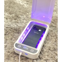 Portable UV Sterilizer Box 360 Derajat Virus HP Masker Perhiasan Uang