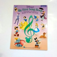 Volume 3 Disney My First Song Book Vol 3 Buku piano Disney full colour
