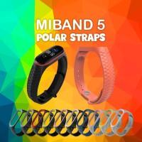 MIJOBS Silikon Polar Strap MiBand 5 Replacement Strap Tali Pengganti