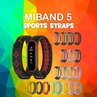 MIJOBS SPORT Silicone Strap Mi Band 5 Replacement Case Tali miband 5