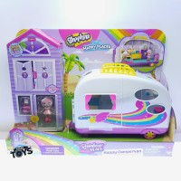 Shopkins Happy Places Rainbow Beach Happy Campervan Playset