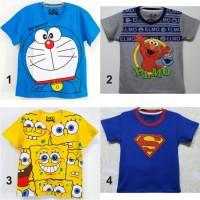 Kaos Anak Laki - Laki Karakter dan Oshkosh size 1-6 Tahun