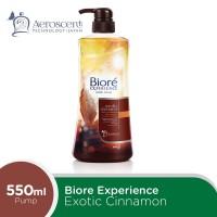 BIORE Body Foam Exotic Cinnamon Pump 550 ml