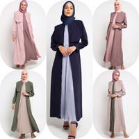 Gamis Muslim Wanita Le Najwa Laila Dress