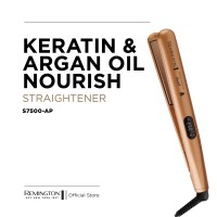 Remington Keratin&Argan Oil Nourish Straightener-S7500/Catokan Rambut