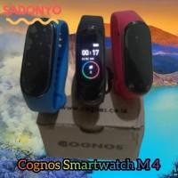 COGNOS Smartwatch M4 SMART WATCH Mirip Mi Band 4 ORI WARNA BIRU