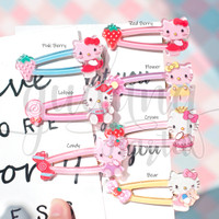 Jepit Rambut Hello Kitty Lucu Besar GH 201780