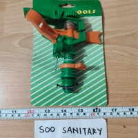 Sprinkler PVC C-517-F - Alat Penyiram Putar PVC Garden Tools Sprinkle