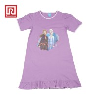 ORIGINAL Ramayana x Disney Frozen Daster Anak Purple