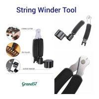 Pro winder peg winder gitar string cutter bridge 3 in 1 tool pegwinder