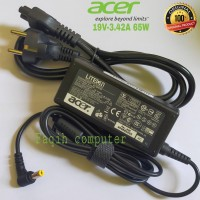 Adaptor Charger Carger Casan Original Laptop Acer Aspire 19V-3.42A 65W