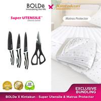 Exclusive Bundling Bolde X Kintakun - Electra Pisau & Matras Protector