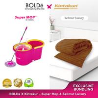 Exclusive Bundling Bolde X Kintakun - Supermop M788 & Selimut Mewah