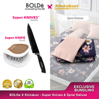 Exclusive Bundling Bolde X Kintakun - Pisau Granit & Sprei Deluxe Ing