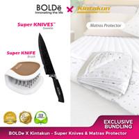 Exclusive Bundling Bolde X Kintakun - Pisau Granit & Matras Protector