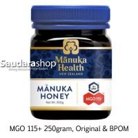 Madu Manuka Health MGO 115+ 250gram / Manuka Honey UMF 6+ 250gram