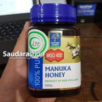 Madu Manuka Health MGO 400+ 500gram / Manuka Honey UMF 13+ 500gram