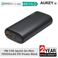 Aukey Powerbank PB-Y36 Sprint Go Mini 10000mAh Power Deliver - 500461