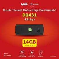 Modem USB DQ431 Telkomsel 4G LTE Free 14GB - Unlock