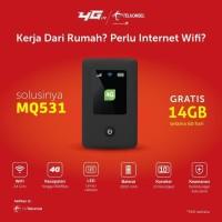 Modem Mifi MQ531 Telkomsel 4G LTE Free 14GB - Unlock All GSM