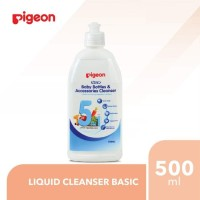 Pigeon Liquid Cleanser Basic Bottle 500ml - Sabun Cuci Botol Bayi
