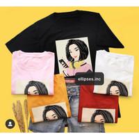 Tumblr Tee/T-Shirt/Kaos Wanita Lengan Pendek JOY TSHIRT - ELLIPSES.INC