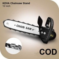 Gergaji Mesin Kit Mesin Gerinda - Chain Saw Bracket Set 12inch